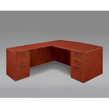 Fairplex Executive Desk with Double Pedestals