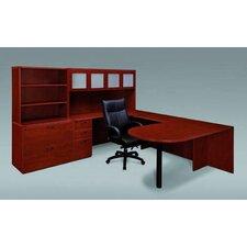 Fairplex 4-Piece L-Shape Desk Office Suite