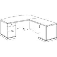 Belmont L Shape Executive Desk