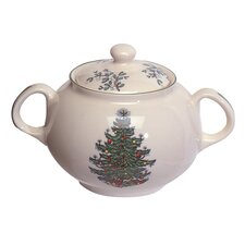 Original Christmas Tree Traditional Sugar Bowl with Lid
