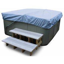 All-Seasons Square Hot Tub Cover