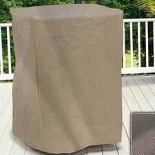 English Garden Square Outdoor Side Table/Ottoman Cover
