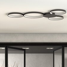 Capella 4 Light Flush Mount