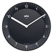 "8"" Braun Analog Wall Clock"