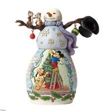 Mischief and Merriment Snowman Scene Figurine