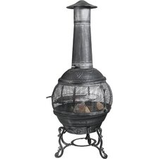 Venus Steel Wood Chiminea