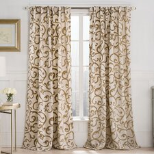 Brandy Drape Single Curtain Panel