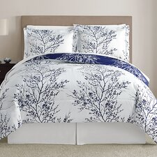 Leaf 8 Piece Queen Comforter Set