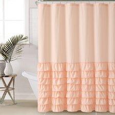 Melanie Ruffle Shower Curtain