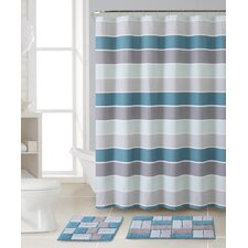 Cinder 3 Piece Shower Curtain Set