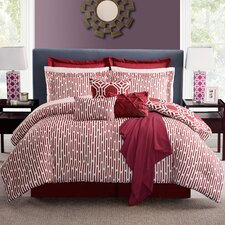 Milford Hexagon Comforter Set