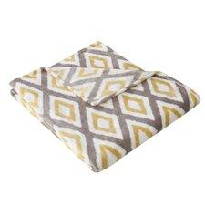 Ikat Diamond Throw Blanket