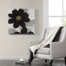 Midnight Bloom by Ivo Stoyanov Painting Print on Canvas