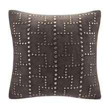 Studded Square Throw Pillow