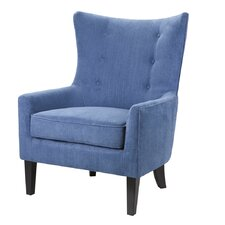 Carissa Shelter Wingback Chair