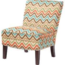 Hayden Curved Back Slipper Chair