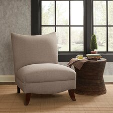 Asher Curved Back Slipper Chair