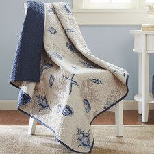 Bayside Oversized Quilted Throw