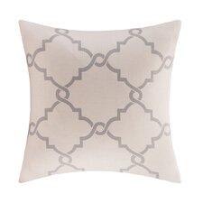 Saratoga Fretwork Print Throw Pillow