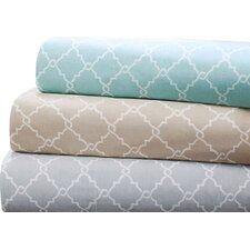 Fretwork 200 Thread Count Cotton Sheet Set