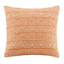 Geometric Handloom Square Pillow