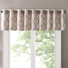 Saratoga Light-Filtering Curtain Valance
