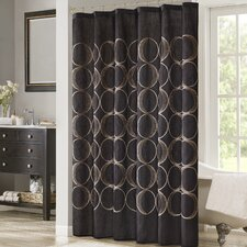 Tamia Embroidered Shower Curtain