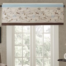 Serene Embroidered Curtain Valance
