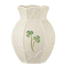 Shamrock Trellis Violet Vase