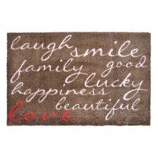 Fussmatte LifeStyle-Mat Lachen mit Liebe