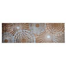 Läufer LifeStyle-Mat Spots in Grau / Braun