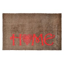 Fußmatte LifeStyle-Mat Home Herz