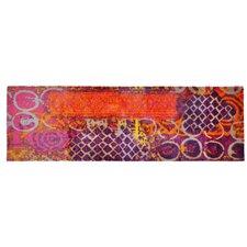 Läufer LifeStyle-Mat Alter Teppich in Violett