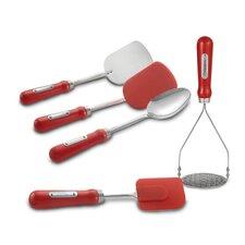 Retro 5 Piece Kitchen Tool Set