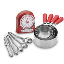 Measuring 10 Piece Timer, Spoon and Cup Set