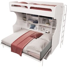 Multimo Twin Over Full Murphy Bed