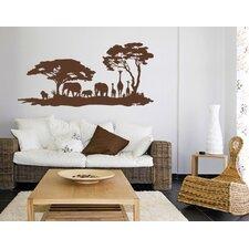 Afrika-Savanne Wall Sticker