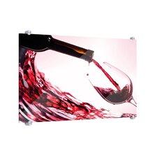 Köstlicher Wein Glass Art