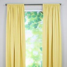 Duck Rod Pocket Curtain Panel