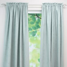 Passion Suede Cloud Rod Pocket Curtain Panel