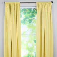 Duck Cotton Rod Pocket Single Curtain Panel