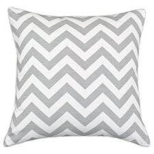 Zig Zag Cotton Throw Pillow