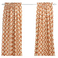 Macie Linen Rod Pocket Single Curtain Panel