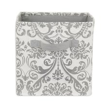 Abigail Storm Twill Storage Bin with Handle