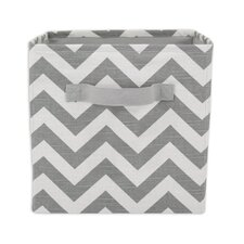 Zig Zag Storage Bin with Handle