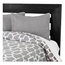 Ellington Duvet Set in Grey