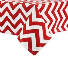 Zig Zag Lipstick Hemmed Tablecloth