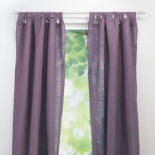 Tab Top Single Curtain Panel