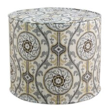 Oh Suzani Metal High Corded Foam Ottoman