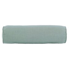 Circa Solid Corded Fiber Bolster Pillow
